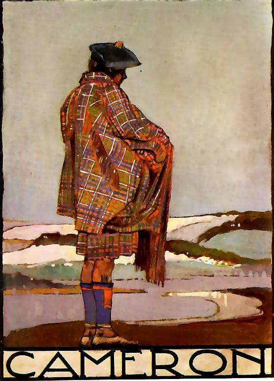 clan cameron 1930