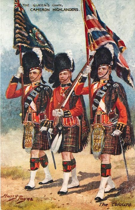Queen's Own Cameron Highlanders, vers 1911