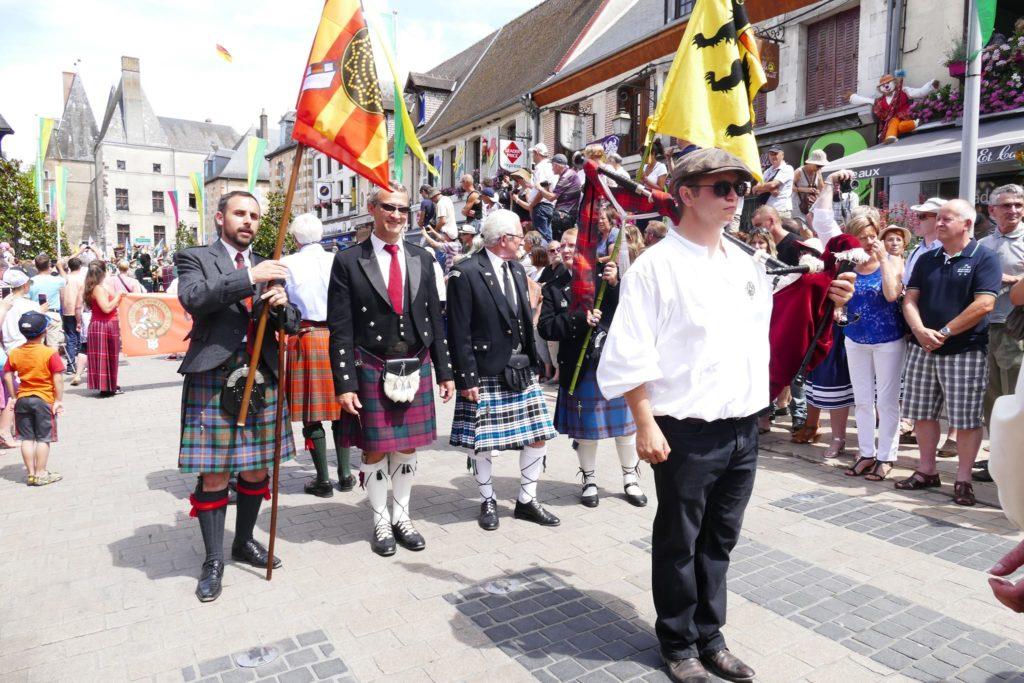 Le clan Cameron France en 2015 au FFE d'Aubigny sur Nère